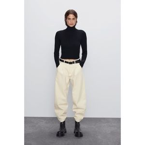 Zara mockneck long sleeve